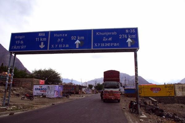 karakorum highway en bicicleta